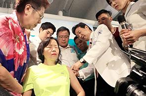 자생의료재단 신준식 명예이사장, 홍콩 현지에서 메디컬쇼 펼쳐