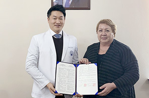 자생한방병원, 키르기스스탄 국립의대와 학술교류 업무협약 체결